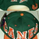 UNIVERSITY OF MIAMI HURRICANES EMBROIDERED CAP **NEW**