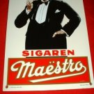 MAESTRO SIGAREN, WHITE ASH EDITION NUMBERED **NEW**
