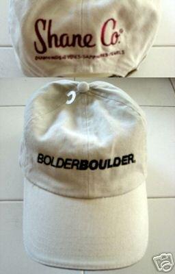 BOLDER BOULDER RACE CAP  *NEW*