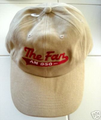 THE FAN AM950 SPORTS RADIO EMBROIDED BASEBALL CAP *NEW*