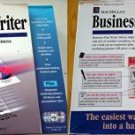 BUSINESS PLAN WRITER DELUXE by MACMILLAN  *NEW/SEALED*