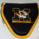 MISSOURI TIGERS MALLET PUTTER COVER, EMBROIDERED  *NEW