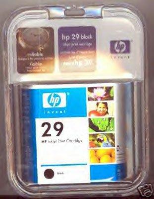HP 29/51629A BLACK INKJET CARTRIDGE *NEW/FACTORY SEALED