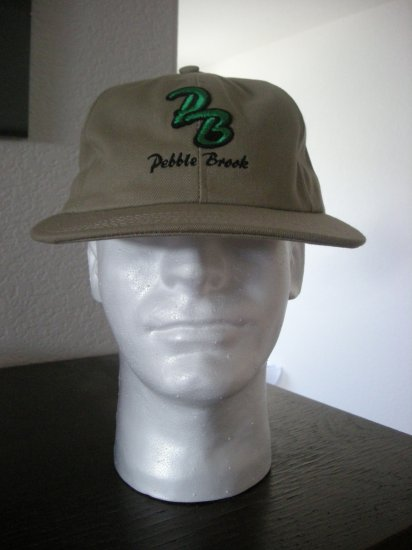 PEBBLE BROOK GOLF COURSE EMBROIDERED CAP  *NEW*