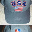 FIGURE SKATING TEAM USA EMBROIDERED BASEBALL CAP**NEW**