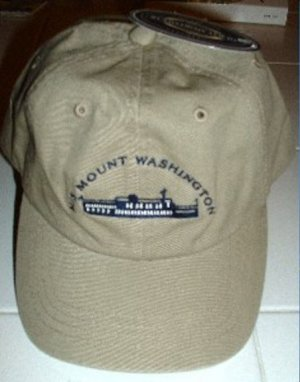 M/S MOUNT WASHINGTON EMBROIDERED BASEBALL CAP *NEW*