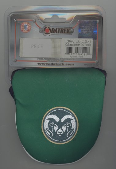 COLORADO STATE OVERSIZE MALLET PUTTER COVER *NEW*