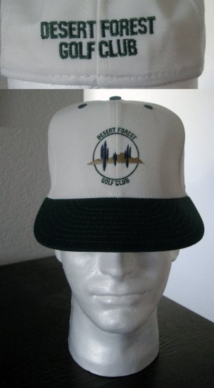 DESERT FOREST GOLF CLUB EMBROIDERED CAP  *NEW*
