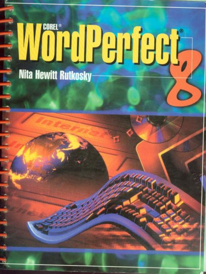 COREL WORDPERFECT 8 TEXTBOOK w/SOFTWARE **NEW**