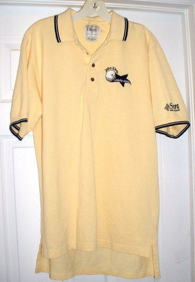 JOHN ELWAY GOLF CLASSIC POLO SHIRT, SMALL **NEW**