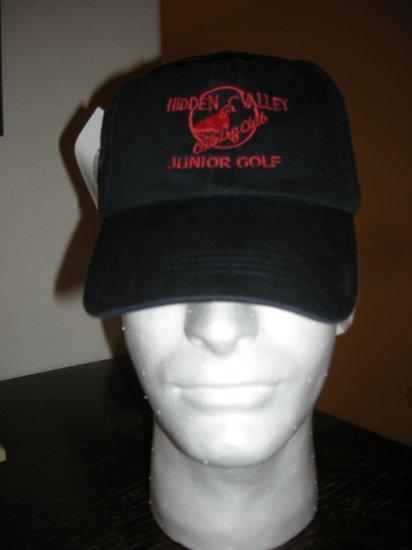 HIDDEN VALLEY COUNTRY CLUB JUNIOR GOLF BALL CAP *NEW*
