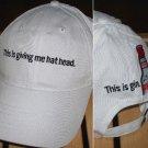 "BEEFEATER GIN ""HAT HEAD"" BASEBALL CAP  *NEW*"
