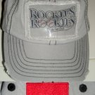 COLORADO ROCKIES ROOKIES - KIDS FAN CLUB CAP *NEW*