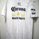 CORONA BEACH PARTY T-SHIRT, MEDIUM **NEW**