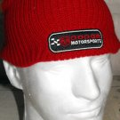 DODGE MOTORSPORTS NASCAR KNIT CAP, RED **NEW**