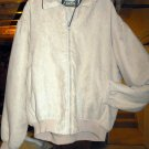 MEN'S COTTON JACKET, X LARGE, COLOR:TAN, WARM & COMFY *NEW*