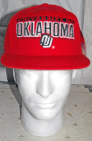 UNIVERSITY OF OKLAHOMA  EMBROIDERED BALL CAP *NEW*