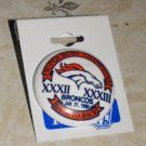 DENVER BRONCOS SUPER BOWL BACK TO BACK LAPEL PIN  *NEW*