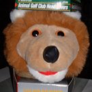 LION ANIMAL HEADCOVER FOR LONG NECK CLUBS *NEW