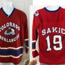 JOE SAKIC COLORADO AVS YOUTH JERSEY, LG 16-18 *NEW*