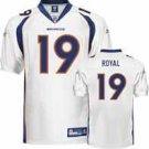 "EDDIE ROYAL #19 DENVER BRONCOS NFL ""ON-FIELD"" JERSEY *NEW-JUST REDUCED!!!"