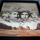 WILLIE NELSON, WAYLON JENNINGS, JOHNNY CASH, KRIS KRISTOFFERSON AUTOGRAPHED HIGHWAYMAN ALBUM W/COA