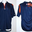 "DENVER BRONCOS COACH'S ""ON-FIELD"" SIDELINE POLO by NIKE NFL PRO LINE AUTHENTIC, Size: Medium"