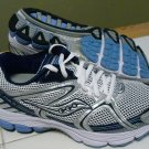 Saucony Progrid Stabil CS Women's Running Shoe Silver / Blue, Size 8