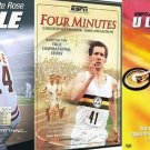 ESPN HOME ENTERTAINMENT 3 DVD SPORTS PACK - HUSTLE / FOUR MINUTES / ULTIMATE X