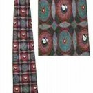 EIGHT BALL POOL SILK NECK TIE by PURITAN **NEW**