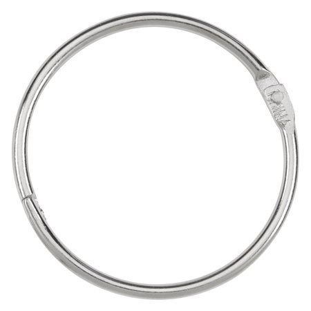 "ACCO LOOSE LEAF RINGS - 2""/ 3 PACK; SILVER; CASE OF 17 PACKS"