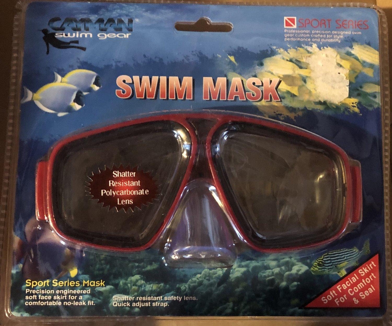 SWIM MASK -SPORT SERIES by Cayman Swim Gear *NEW*