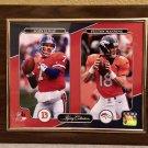 John Elway and Peyton Manning Denver Broncos Custom Photo Plaque