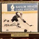 Mike Modano #9 Dallas Stars Autographed Custom Photo Plaque - Free Shipping