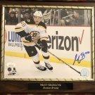 Matt Grzelcyk #48 Boston Bruins Autographed Custom Photo Plaque