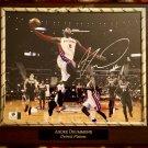 Andre Drummond Detroit Pistons Autographed Custom Photo Plaque