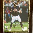 Mitch Trubisky #10 Chicago Bears Autographed Custom Photo Plaque