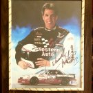 Darrell Waltrip #17 NASCAR Autographed Custom Photo Plaque