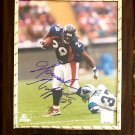 Howard Griffith #29 Denver Broncos Autographed Custom Photo Plaque