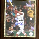 Andrew Benintendi  Boston Red Sox Autographed Custom Photo Plaque