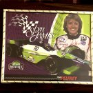 Lyn St James IndyCar Autographed Custom Photo Plaque