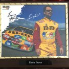 "Ernie ""Swervin'"" Irvan NASCAR Autographed Custom Photo Plaque - FREE Shipping."