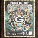 PACKERS All-Time Greats Custom Photo Plaque - FREE SHIPPING