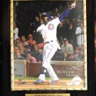 Jorge Soler Chicago Cubs Autographed Custom Photo Plaque - FREE Shipping