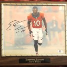 Emmanuel Sanders #10 Denver Broncos Autographed Custom Photo Plaque - FREE Shipping
