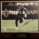 Alvin Kamara #41 New Orleans Saints Autographed Custom Photo Plaque - FREE Shipping