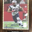 Rob Ninkovich #50 New England Patriots Autographed Custom Photo Plaque - FREE Shipping