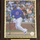 Milton Bradley #21 Chicago Cubs Autographed Custom Photo Plaque - FREE Shipping