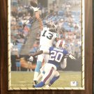 Kelvin Benjamin #14 Carolina Panthers Autographed Custom Photo Plaque - Free Shipping