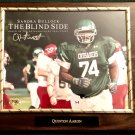 "Quinton Aaron ""The Blind Side"" Autographed Custom Photo Plaque"